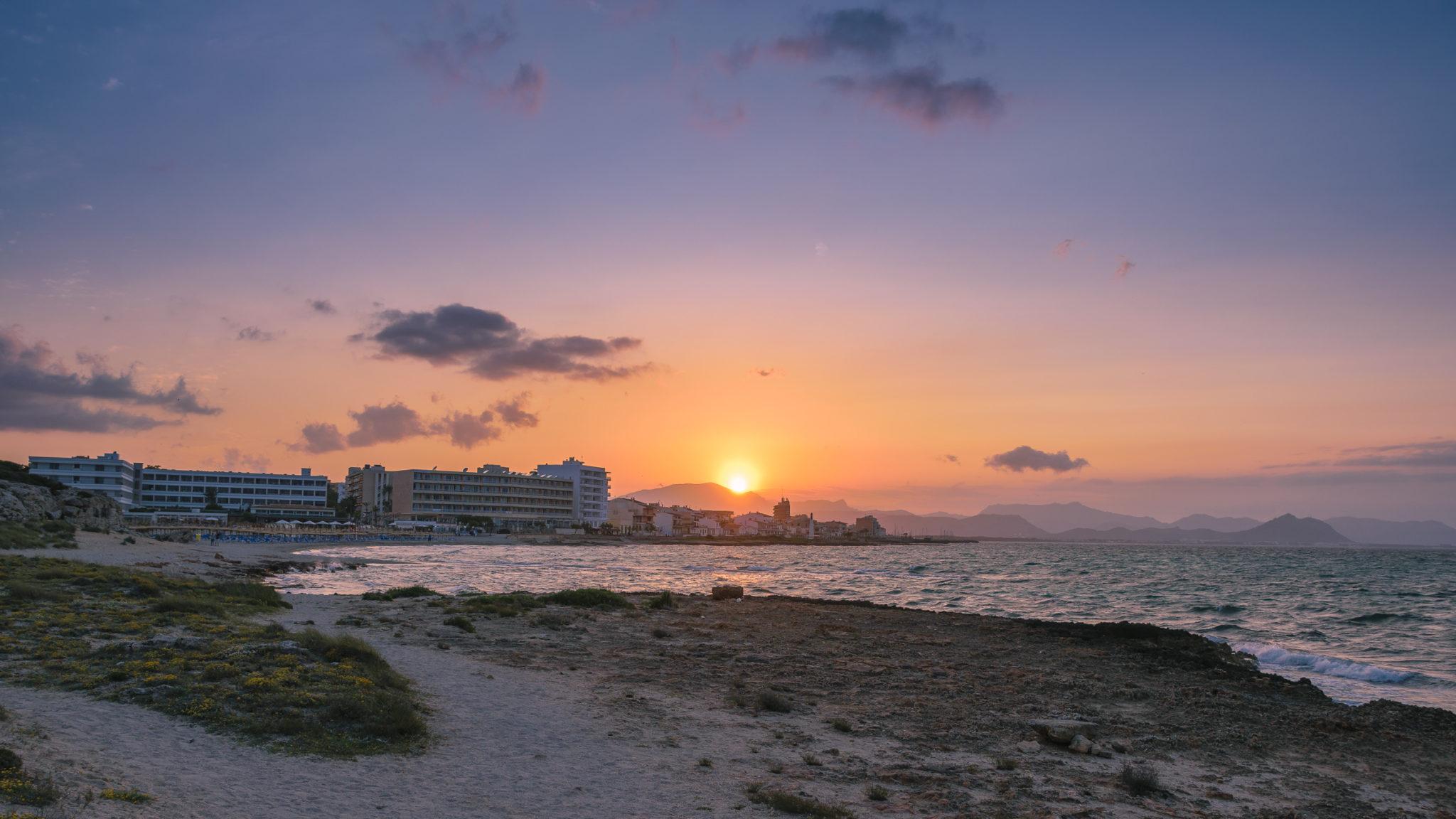 Am Strand von Son Baulo