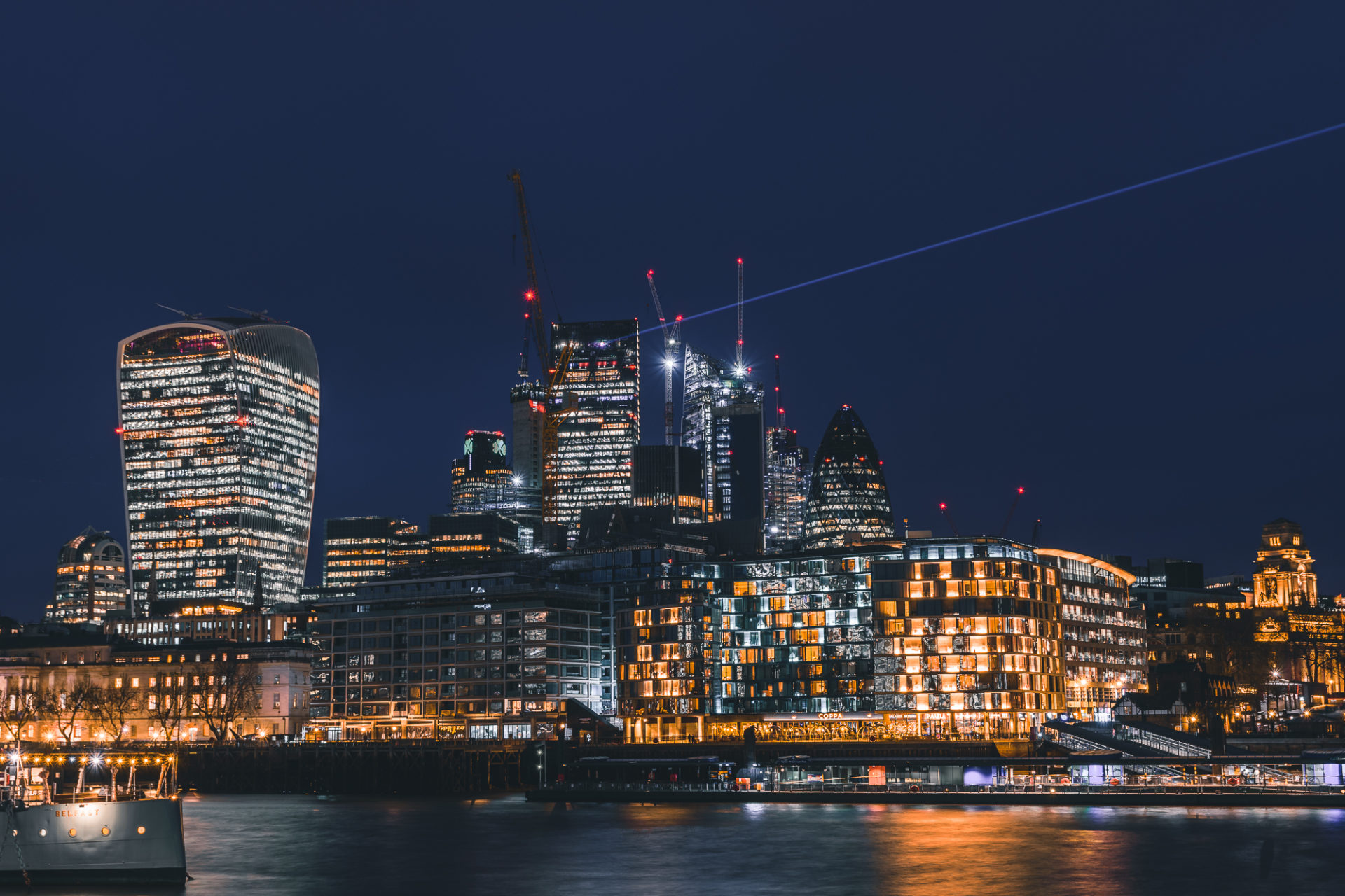 Skyline von London